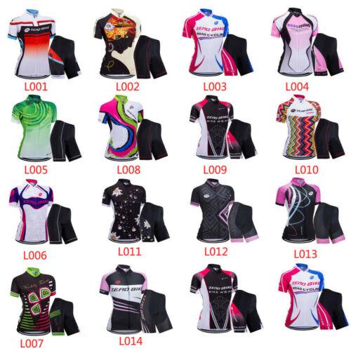 Women's Cycling Clothing  Jersey Sportswear Short Sleeve B