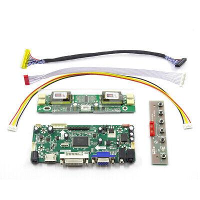 Kit Driver Controller Board M170E5-L09 HDMI+DVI+VGA Inverter Keypad Accessory for sale  Shipping to Canada
