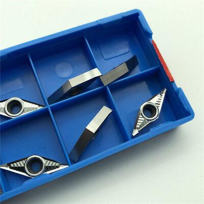For- Aluminum Vcgt110304-ak H01 Vcgt221 Cnc Insert Vcmt110304 Lathe Blade 10pcs