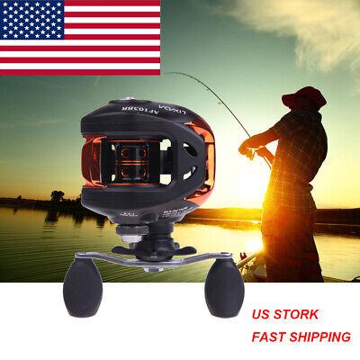 Lixada 10+1BB Fishing Reel Ball Bearings Right Hand Bait Cas