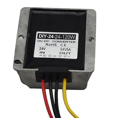 Dc 24v 18v-36v Converter To 24v 5a Dc Boost Buck Power Module Voltage Regulator