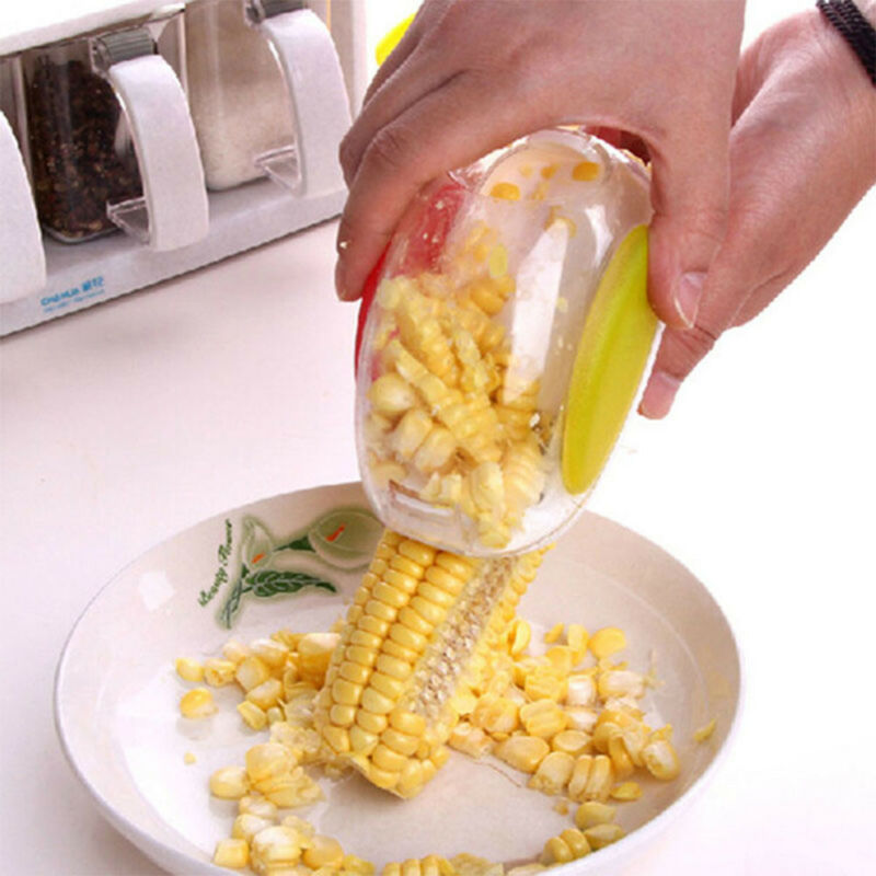 Corn Peeler Thresher Kitchen Tools Cob Kerneler Cutter Strip