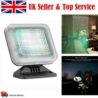 LED Fake TV Light Home Security Simulator Burglar Intruder Thief Deterrent UK