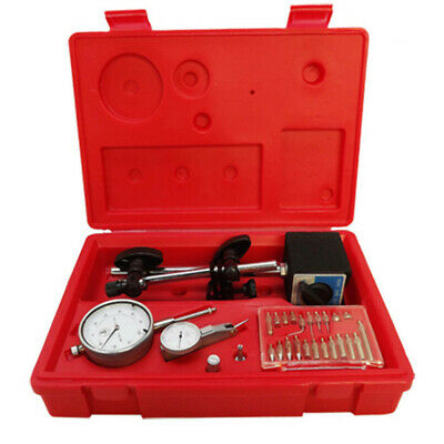 1 inch Dial Indicator With Magnetic Base 22 Point Set Precision Inspection Tool