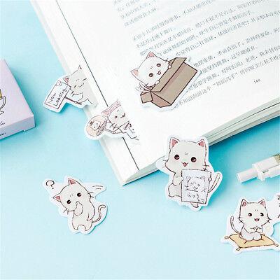 45pcs Kawaii Stationery DIY Scrapbooking Photo Album Decorations Label Stickers - Photo Stickers