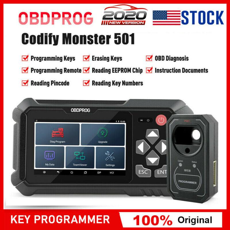 OBD2 Immobilizer Key Fob Programming IMMO Diagnostic Tool Car Pincode Reader