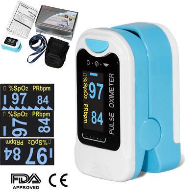 BEST Finger Pulse Oximeter Fingertip Oxygen Monitor SPO2 PR Pulsoximeter