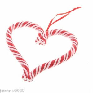 GISELA-GRAHAM-FESTIVE-STRIPED-CANDY-CANE-HEART-SWEET-CHRISTMAS-TREE-DECORATIONS