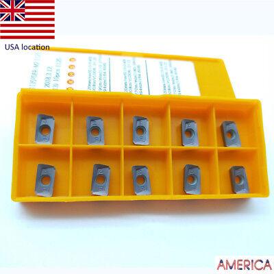 Us- 10pcs Apmt1135pder-m2 1125 Carbide Insert Apmt For Bap300r Apkt 1135pder
