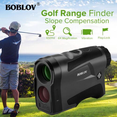 BOBLOV Golf Hunting Range Finder With Slope Compensation 650