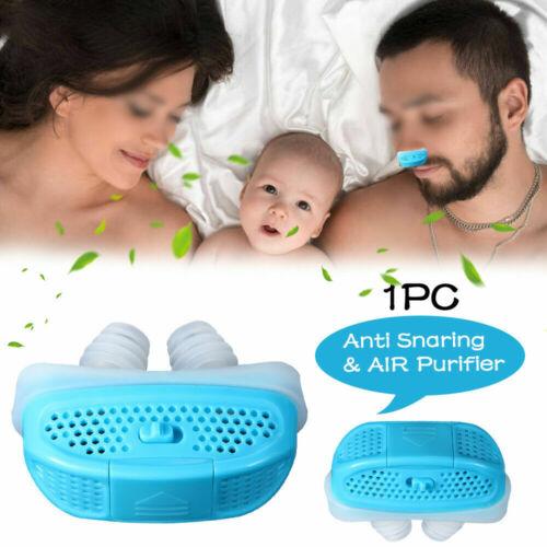 Electric Mini CPAP Anti Snoring Device Suit Sleep Apnea Stop