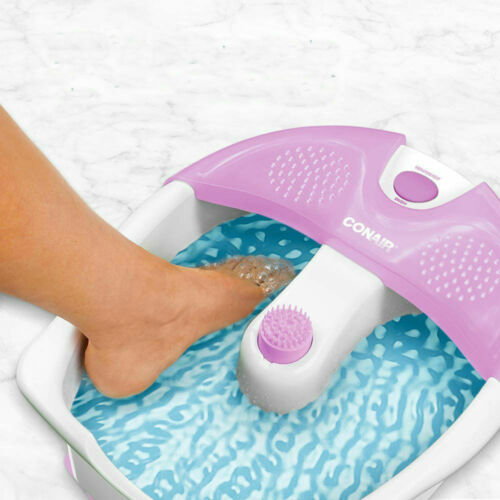 Pedicure Foot Spa Bath Massager Heat Tub Soak Feet Relax Therapy w/ Vibration