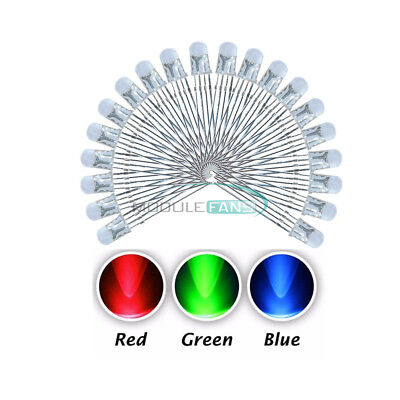 20pcs 4pin 5mm Rgb Tri-color Common Anode Led Red Green Blue