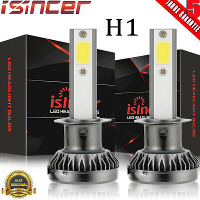 2× H1 LED Auto Scheinwerfer Kit Fern-/Abblendlicht Beam Birnen 6000K VS Xenon DE