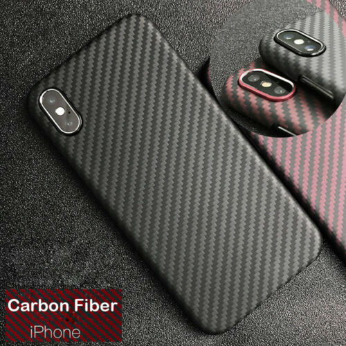 Carbon Fiber Iphone Case >> Details About Ultra Thin Carbon Fibre Cover For Iphone X Xs Max Real Carbon Fiber Case Cover