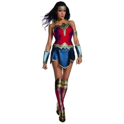 Justice League Wonder Woman Adult Womens Costume, 820654, Rubies (Wonder Woman Adult Costume)