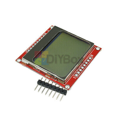 10pcs 84x48 Nokia White Backlight Lcd Module Board Adapter Pcb For Nokia 5110