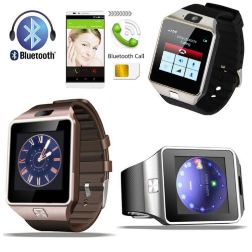 Bluetooth DZ09 Smart Watch For iPhone Samsung HTC LG Android Phone W/ Camera SIM