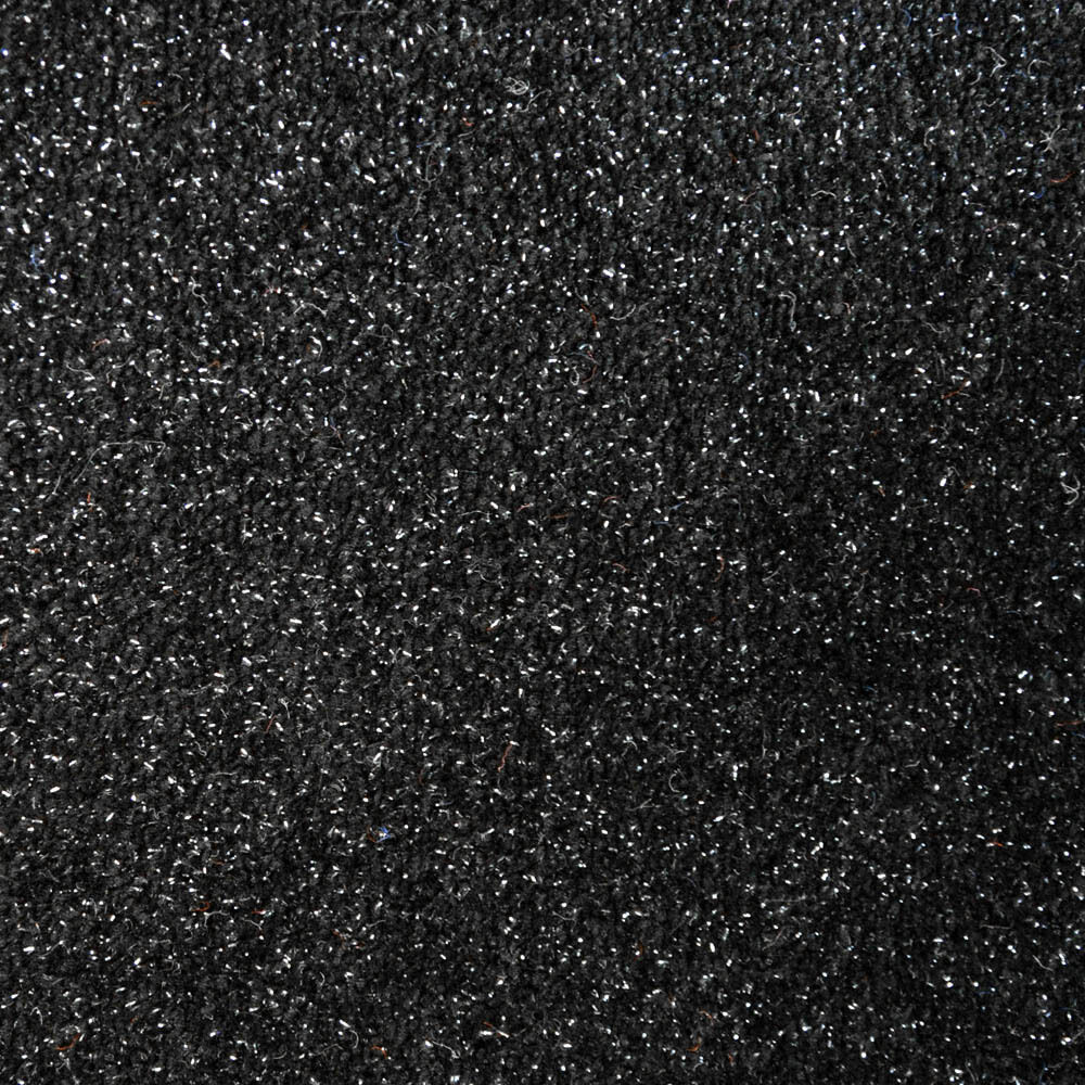 Glitter Sparkle Black Carpet Remnants Roll Lounge Bedroom