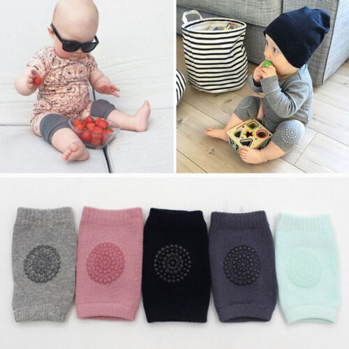 5 Pack Set Baby Crawling Anti-Slip Knee Unisex Baby Toddlers