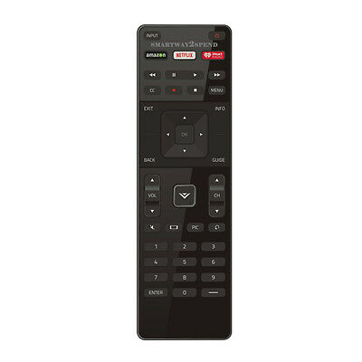 Factory  Vizio XRT122 Remote Control with Netflix, Iheart, Amazon App