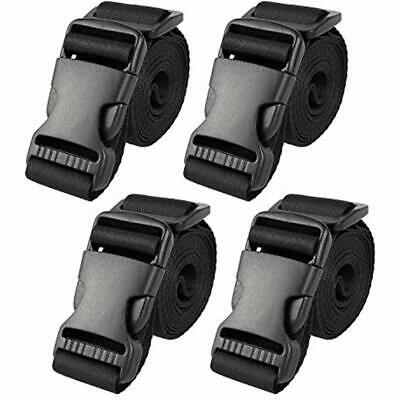 """Utility Straps With Buckle 72""""Lx1.25""""W Quick-Release Adjusta"""
