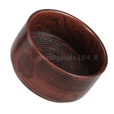 Lightweight Wooden Men Facial Shaving Brush Mug Shaving Bowl Cream Soap Cup D0N6