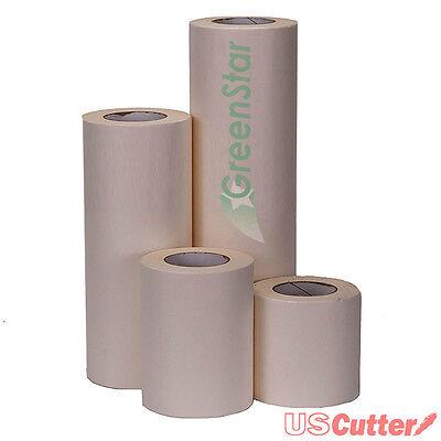 12 X 100yd Greenstar Wet Application Transfer Tape Medium Tack Craft Banners