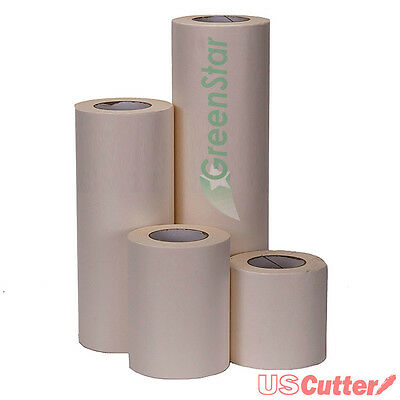 """12"""" x 100YD GreenStar Application Transfer Tape for Vinyl Signs, Craft, Banners"""