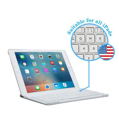 Wireless White Bluetooth Keyboard For iPad 10.2 9.7 7th/6th Gen 2019/2018 Air123