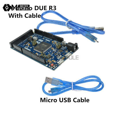 Sam3x8e Due R3 32-bit Arm Cortex-m3 Control Board Module Wusb Cable For Arduino