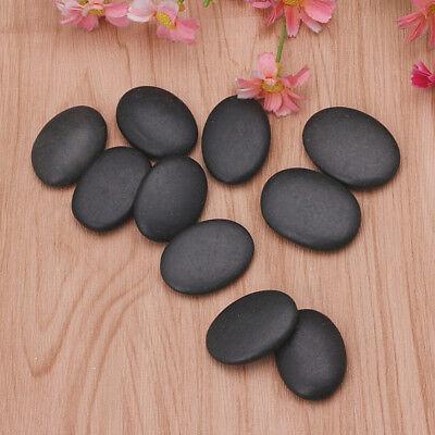 8 Pcs / Lot Hot Spa Rock Basalt Stone Stones Massage Lava Natural Stone Set Hot Stone Massage Set