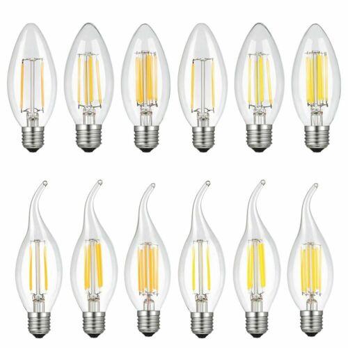 5X10X E26 Bulb Dimmable 2W 4W 6W LED COB Filament Light Lamp