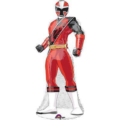 SABAN'S Power Rangers Ninja Geburtstag Jumbo 122cm Super Form Folie Mylar