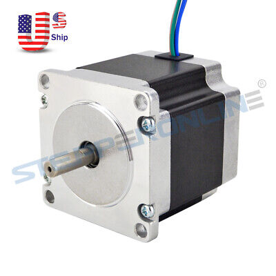 Nema 23 Stepper Motor 1.26nm178.04oz.in 2.8a Cnc Mill Robot Lathe 3d Printer