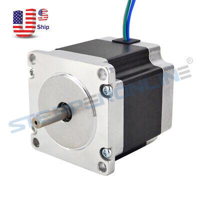 Nema 23 Stepper Motor 1.26nm178.04oz.in 2.8a Cnc Mill Robot Lathe 3d Printer