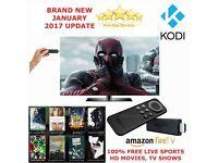 Amazon Fire Stick KODI 16.1 FULLY LOADED ✅ MOVIES ✅ TV SHOWS ✅ SPORTS ✅LATEST BUILD -AUTO - UPDATES