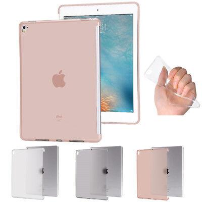 matt Transparent Soft TPU Back Case iPad Pro 9,7'' Zoll Silikon Cover Hülle Etui (Ipad Soft-cover)