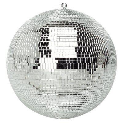 "Genuine SoundLAB Lightweight Silver Mirror Dance Disco Party DJ Ball (200mm 8"")"