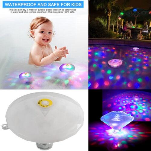 LED Schwimmbad Unterwasser Badewanne Spielzeug Poolbeleuchtung Licht Beleuchtung