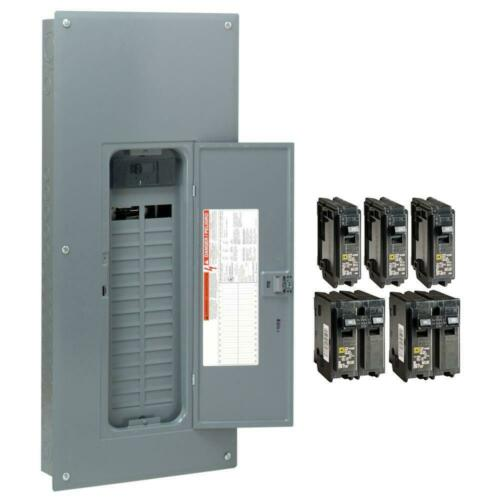 Square D Main Breaker Box Value Pack Kit 200 Amp 30-Space 60-Circuit 120/240V