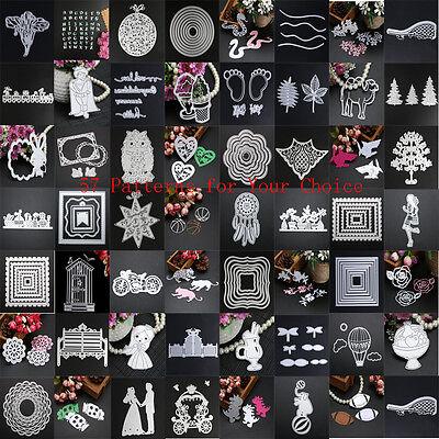 DIY Metall Schneide Stanzen Schablone Scrapbook Karte Album Papier Prägung