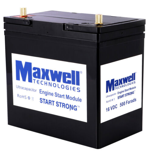 MAXWELL super capacitor 16V 500F car battery 12V rechargeable battery power bank