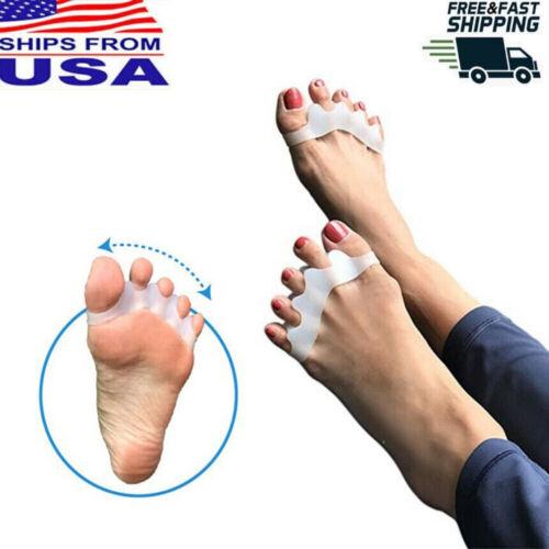 US Toe Separator Stretcher Spreader Spacer Bunion Hammer Toes Corrector Feet Foot Creams & Treatments