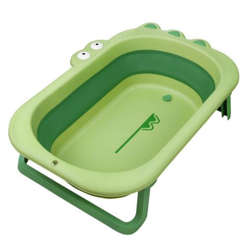 Baby Bath Tub Foldable Toddler Shower Basin Portable Infant Newborn Washing Tub