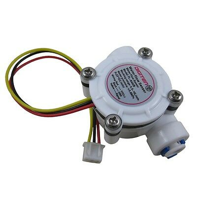 G14 Quick Connect Water Flow Hall Sensor Switch Flowmeter Counter 0.3-10lmin