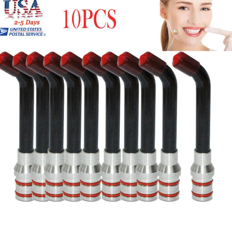 8*12*15mm Light Guide Rod Tip for Dental Optical Fiber Curing Light Lamp 10PCS