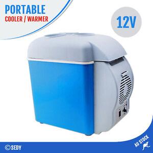 7.5L Portable Fridge 12V Warmer Cooler Car Truck Camping Caravan Refrigerator