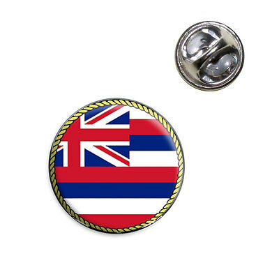 Hawaii State Flag Lapel Hat Tie Pin Tack