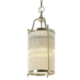 Totana Antique Brass Finish Ceiling Light RRP£400